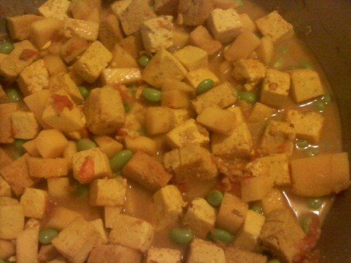 Bill Joseph's pic of Tofu & Mango Curry